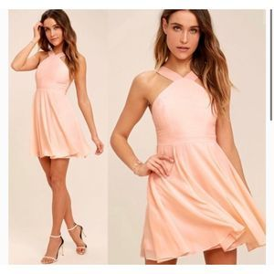Lulus Forevermore Skater Dress